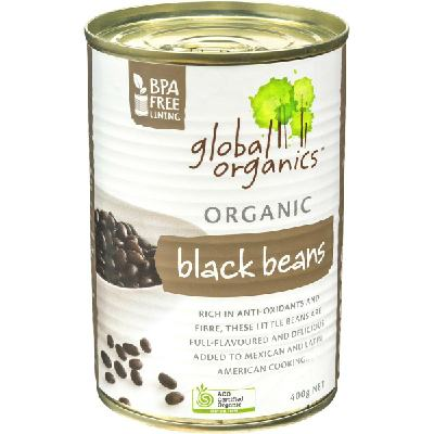 Global Organic Black bean