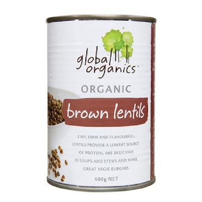 Organic Global Lentils Brown