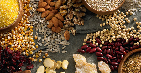 Grains, Beans, Pulses & Rice