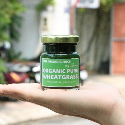Organic Pure Wheatgrass Juice