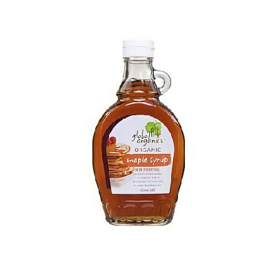 GLOBAL ORGANICS ORG. MAPLE SYRUP 250ML
