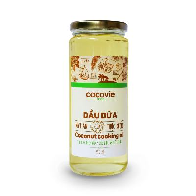Cocovie Organic Cooking Oil